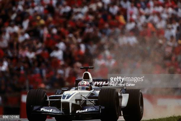 Juan Pablo Montoya WilliamsBMW FW24 Grand Prix of Austria A1Ring Spielberg 12 May 2002