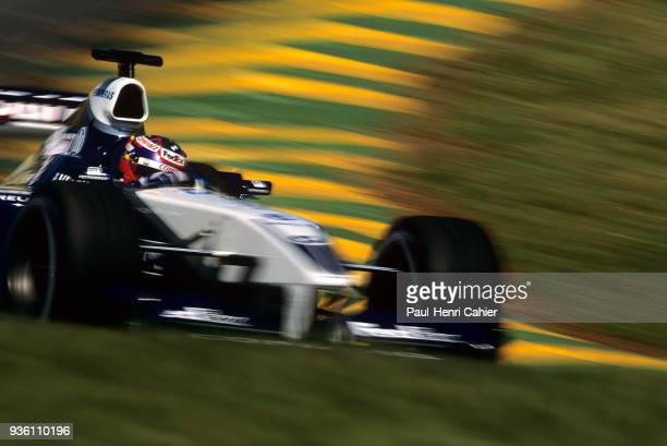 Juan Pablo Montoya WilliamsBMW FW24 Grand Prix of Brazil Autodromo Jose Carlos Pace Interlagos Sao Paolo 31 March 2002 Juan Pablo Montoya on the way...