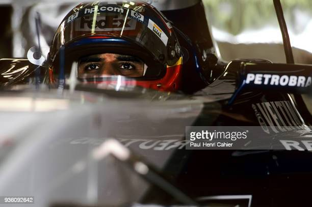 Juan Pablo Montoya WilliamsBMW FW24 Grand Prix of Great Britain Silverstone Circuit 07 July 2002