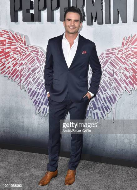 Juan Pablo Raba attends the premiere of STX Entertainment's 'Peppermint' at Regal Cinemas L.A. LIVE Stadium 14 on August 28, 2018 in Los Angeles,...