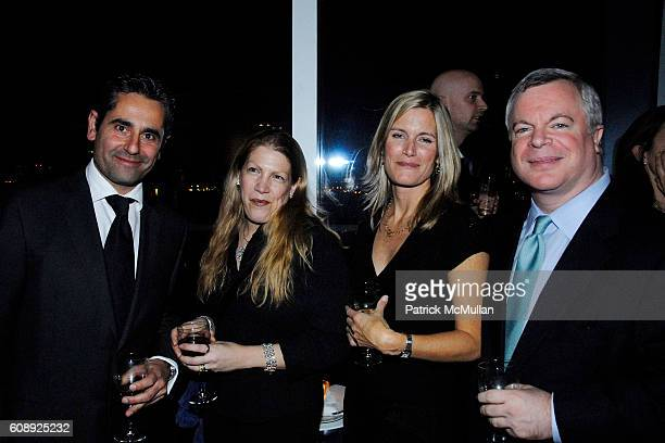 Juan Palmada Alison Coles Kristin Allen and Andy Augenblick attend CULTURE TRAVEL MAGAZINE'S 1st Anniversary Hosted By LOUISE MACBAIN at West Village...