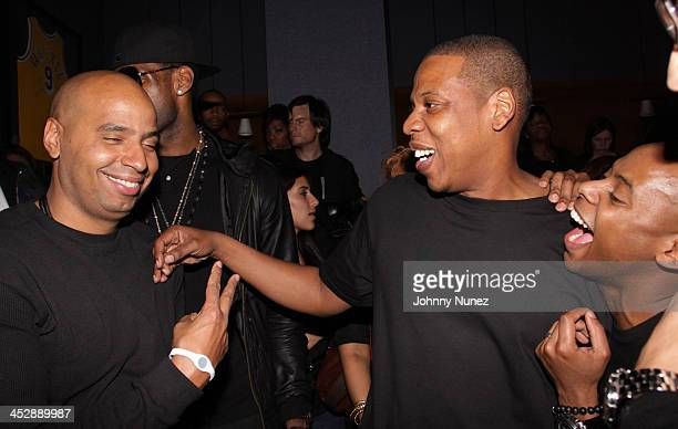 OG Juan Perez JayZ and TyTy attend JayZ's Official Madison Square Garden Concert After Party at the 40 / 40 Club on March 2 2010 in New York City