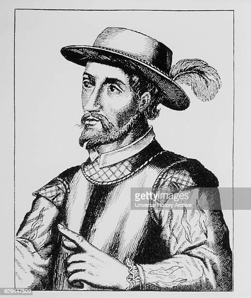 Juan Ponce de Leon Spanish Explorer Discover of Florida Portrait