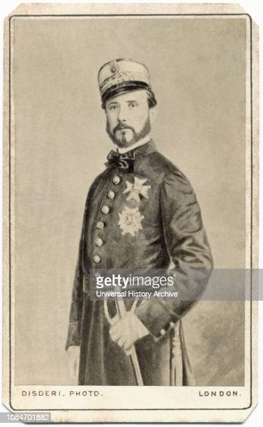 Juan Prim 181470 1st Marquis of los Castillejos Spanish General and Statesman Prime Minister of Spain 186970 Military Portrait 1860