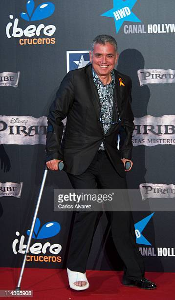 Juan Ramon Lucas attends Pirates Of The Caribbean On Stranger Tides premiere at Kinepolis Cinema on May 18 2011 in Madrid Spain
