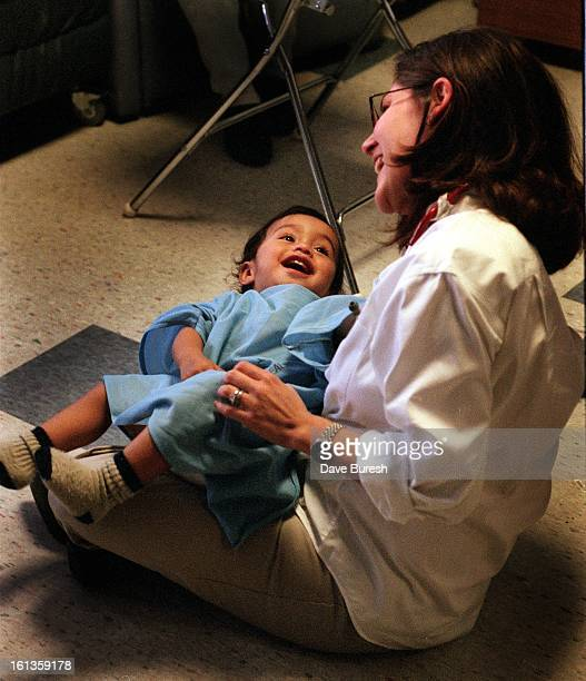 Juan ReyesSantos better known to has family as Juanito because his father's name is also Juan Age 15 months is being treated at Denver Health Med...