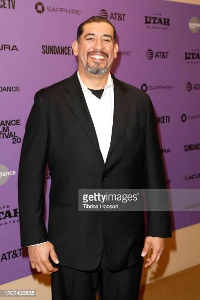 Juan Reynoso attends the 2020 Sundance Film Festival La Leyenda Negra Premiere at Egyptian Theatre on January 27 2020 in Park City Utah