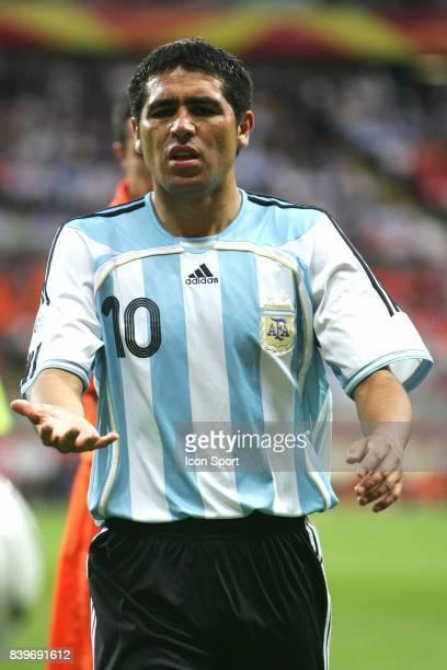 Juan RIQUELME Pays Bas / Argentine Coupe du Monde 2006 Francfort Allemagne
