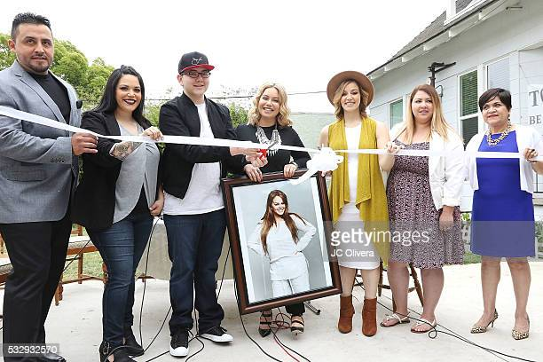 Juan Rivera Jacqie Campos Rosie Rivera Johnny Rivera Janney Marin AKA 'Chiquis' Rivera family members of the late singer Jenni Rivera and Rebecca...