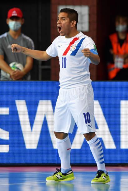 LTU: Angola v Paraguay: Group E - FIFA Futsal World Cup 2021