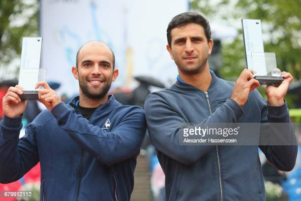 Juan Sebastian Cabal and Robert Farah of Columbia win the double finale match against Jeremy Chardy and Fabrice Martin of Francve of the 102 BMW Open...