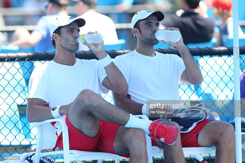 2015 Australian Open - Day 4 : News Photo