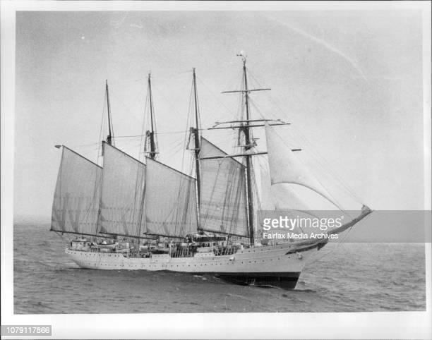 Juan Sebastian de ElcanoThe Tall ships race of the coast of Tasmania January 16 1988