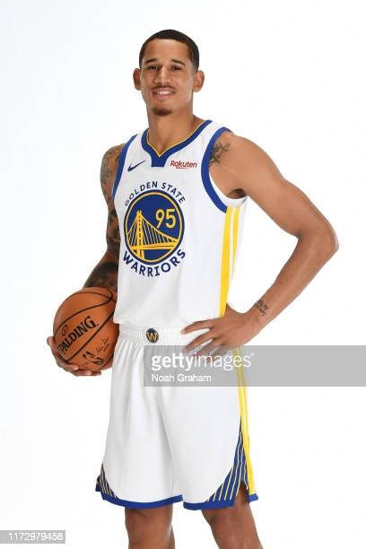 Juan ToscanoAnderson of the Golden State Warriors poses for a portrait during media day on September 30 2019 at the Biofreeze Performance Center in...