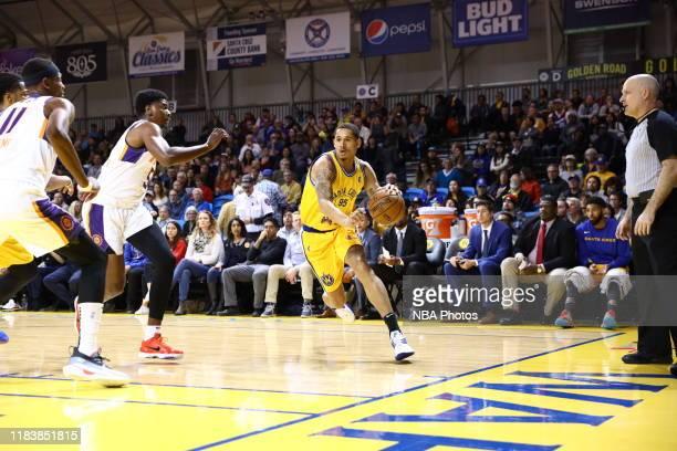 Juan ToscanoAnderson of the Santa Cruz Warriors against the Northern Arizona Suns on November 21 2019 at the Kaiser Permanente Arena in Santa Cruz CA...