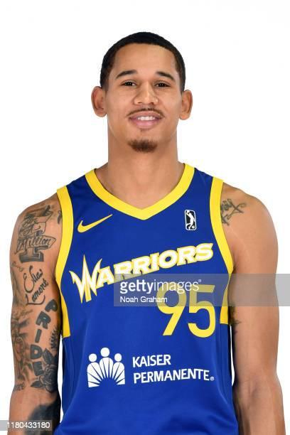 Juan ToscanoAnderson of the Santa Cruz Warriors poses for a head shot during media day on November 4 2019 at the Kaiser Permanente Arena in Santa...