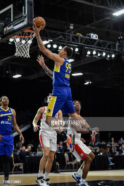 Juan ToscanoAnderson of the Santa Cruz Warriors shoots against the Agua Caliente Clippers on December 22 2019 at the Mandalay Bay Events Center in...