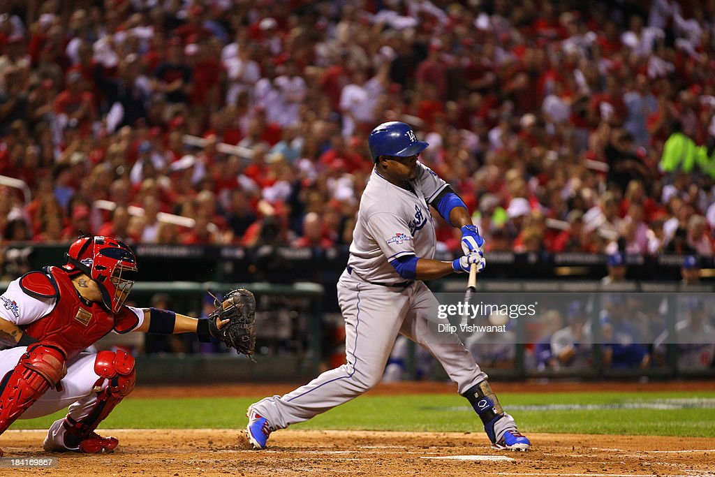 NLCS - Los Angeles Dodgers v St Louis Cardinals - Game One