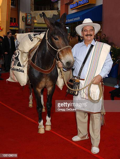 Juan Valdez Conchita during The World Premiere of Bruce Almighty at Universal Amphitheatre in Universal City California United States