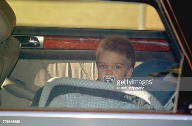 Juan Valentin eldest son of Infanta Christina and Inaki Urdangarin