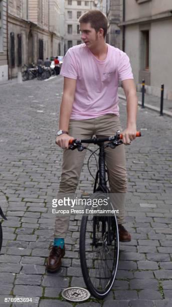 Juan Valentin Urdangarin the day of his 18th birthday on September 29 2017 in Geneva Switzerland