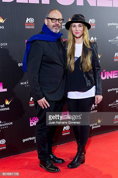Juan Vicente Cordoba attends 'Los Del Tunel' premiere during the Madrid Premiere Week at Callao Cinema on November 21 2016 in Madrid Spain