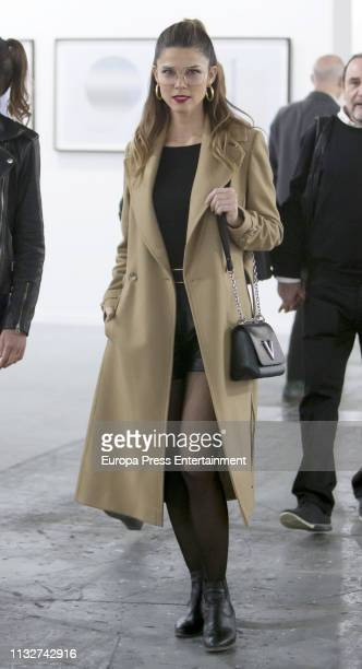 Juana Acosta attends ARCO Art Fair Madrid 2019 at Ifema on February 27 2019 in Madrid Spain