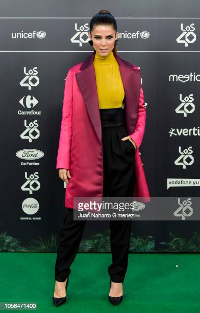 Juana Acosta attends during 'LOS40 Music Awards' 2018 at WiZink Center on November 2 2018 in Madrid Spain