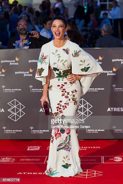 Juana Acosta attends 'Julie' premiere during the 19th Malaga Film Festival on April 26 2016 in Malaga Spain