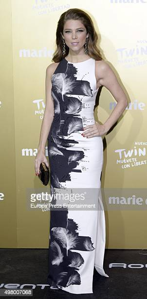 Juana Acosta attends Marie Claire Prix de la Moda Awards 2015 at Callao cinema on November 19 2015 in Madrid Spain