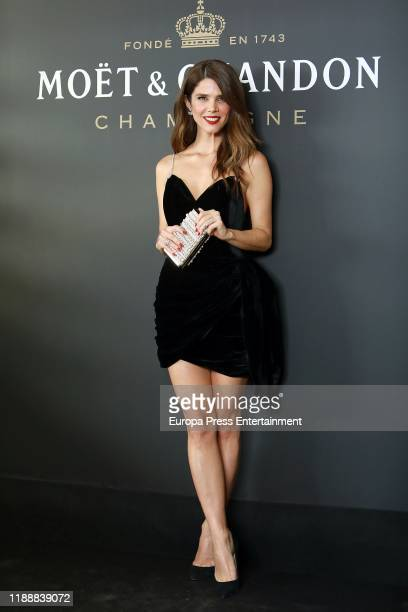 Juana Acosta attends 'Moet Chandon 150th Anniversary' premiere at Hotel Orfila on November 19 2019 in Madrid Spain