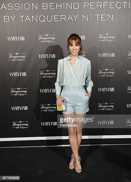 Juana Acosta attends the 'The Passion Behind Perfection by Tanqueray No Ten' party at Club Alma on December 1 2016 in Madrid Spain