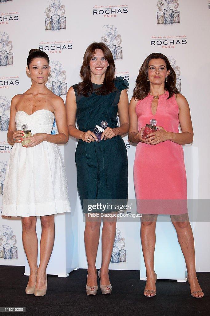 Fabiola Martinez, Monica Molina and Juana Acosta are New Rochas Ambassadors