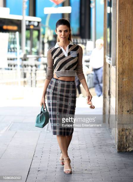 Juana Acosta poses for a photo session on July 2 2018 in Madrid Spain
