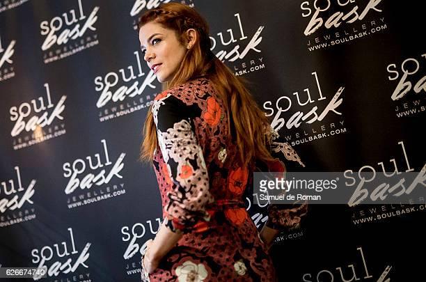 Juana Acosta presents the Soulbask Jewellery Presents Charity Rings on November 30 2016 in Madrid Spain