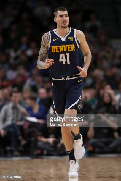 Juancho Hernangomez of the Denver Nuggets plays the Memphis Grizzlies at the Pepsi Center on December 10 2018 in Denver Colorado NOTE TO USER User...