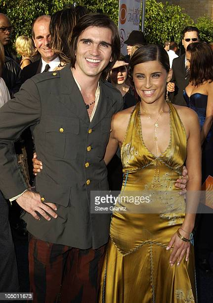Juanes and Nelly Furtado during 3rd Annual Latin GRAMMY Awards Arrivals at Kodak Theatre in Hollywood California United States