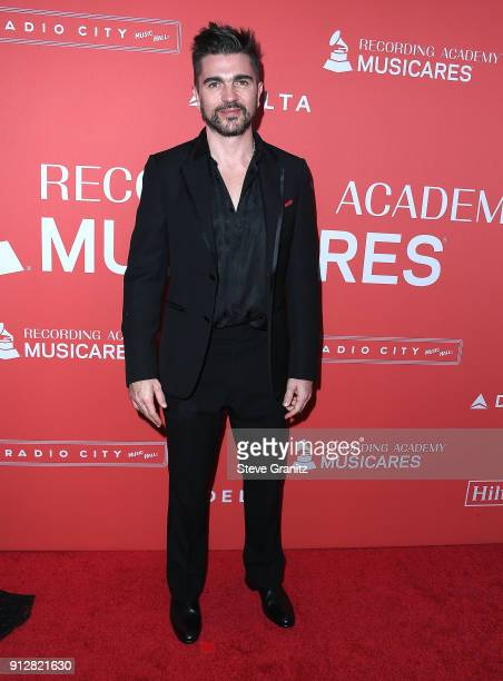 Juanes arrives at the 60th Annual GRAMMY Awards MusiCares Person Of The Year Honoring Fleetwood Mac on January 26 2018 in New York City
