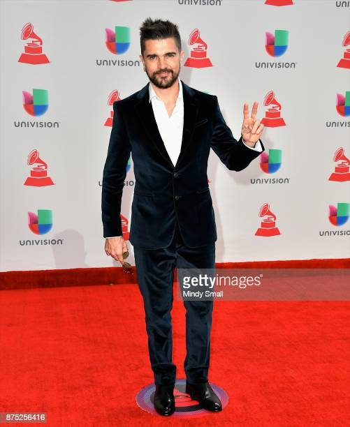 Juanes attends the 18th Annual Latin Grammy Awards at MGM Grand Garden Arena on November 16 2017 in Las Vegas Nevada
