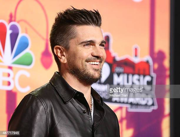 Juanes attends the 2014 iHeartRadio Music Awards press room held at The Shrine Auditorium on May 1 2014 in Los Angeles California