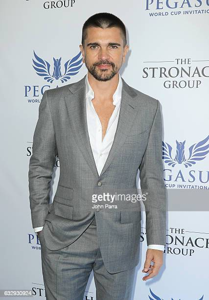 Juanes attends the Pegasus World Cup at Gulfstream Park on January 28 2017 in Hallandale Florida