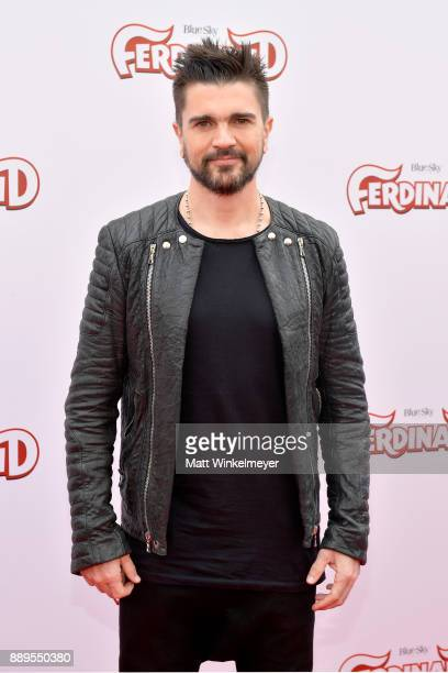 Juanes attends the screening of 20th Century Fox's Ferdinand at Zanuck Theater at 20th Century Fox Lot on December 10 2017 in Los Angeles California