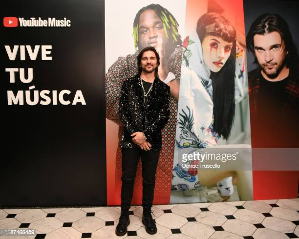 Juanes attends the YouTube Music Press Brunch at the Latin Grammys 2019 at Bardot Brasserie on November 13 2019 in Las Vegas Nevada