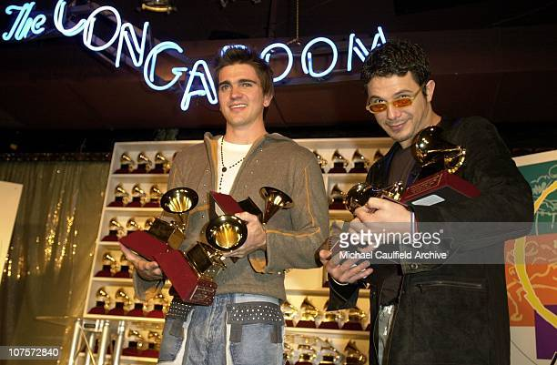 Juanes Best New Artist Best Rock Song and Best Rock Solo Vocal Alejandro Sanz winner of Record of the Year Album of the Year Song of the Year and...