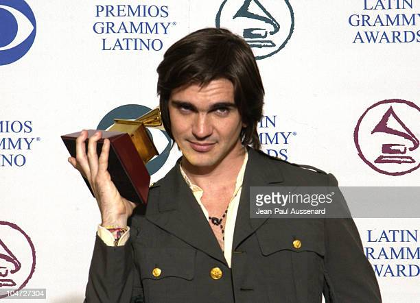 Juanes during 3rd Annual Latin GRAMMY Awards Press Room at Kodak Theatre in Hollywood California United States
