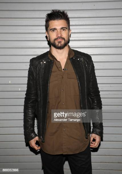 Juanes is seen on the set of 'Despierta America' to promote the film 'Ferdinand' at Univision Studios on December 8 2017 in Miami Florida