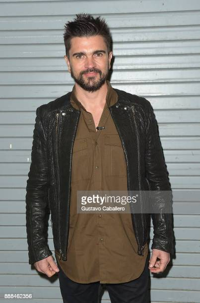 8 Juanes is seen on the set of 'Despierta America' to promote the film 'Ferdinand' at Univision Studios on December 8 2017 in Miami Florida at...