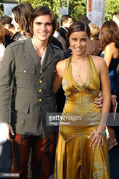 Juanes Nelly Furtado during 3rd Annual Latin GRAMMY Awards Arrivals at Kodak Theatre in Hollywood California United States