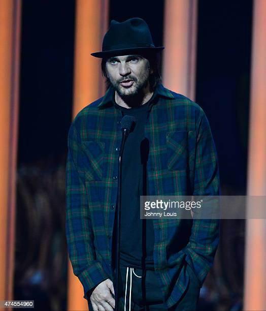 Juanes onstage during the 2015 Billboard Latin Music Awards presented by State Farm on Telemundo at Bank United Center on April 30 2015 in Miami...