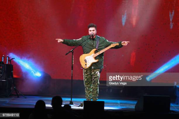 Juanes performs as part of his tour at Coliseo Jose M Agrelot on June 15 2018 in San Juan Puerto Rico